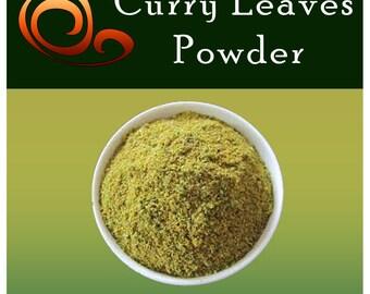 Pure Ceylon Curry Leaves Powder, Freshly Ground, Premium Grade, Free Shipping Worldwide