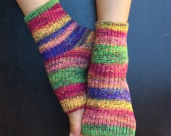 Hand Knit Pedicure Socks (Force)