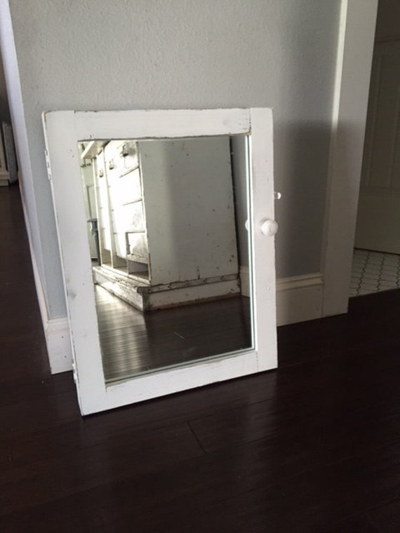 Medicine Cabinet Bathroom Mirror Reclaimed Wood Cabinet