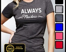 Always Flawless T-shirt, Mornings Are For Mimosas, Diva, Coffee and Mascara, Fitness, Yoga,  Flawless Shirt
