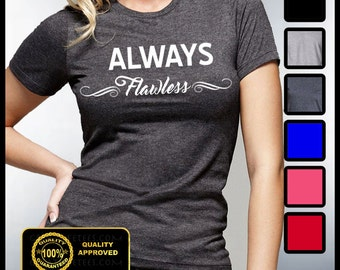 Always Flawless T-shirt, Mornings Are For Mimosas, Coffee and Mascara, Fitness, Yoga,  Flawless Shirt