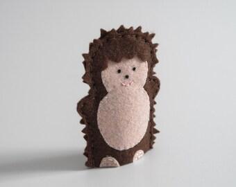 Hedgehog finger puppet  - hedgehogs, hedgehogs for sale, hedgehog pet, pet hedgehog, handmade gifts -