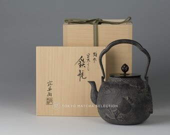 Takaoka Tetsubin : [Premium grade] Collection of Treasures - Japanese Premium Iron Kettle Teapot