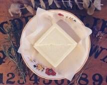Handmade Lotion Bar / Lavender Eucalyptus Rosemary Peppermint / Winter Queen Scent / 1.3 oz Tins