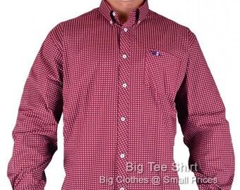 Burgundy Three Before Eight Leveye Shirt 2xl 3xl 4xl 5xl 6xl 7xl 8xl