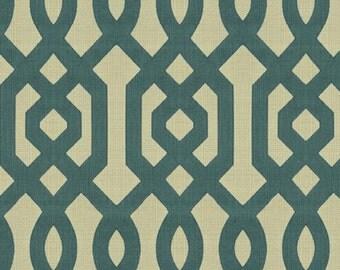 KRAVET LEE JOFA Chinoiserie Scrollworks Jacquard Upholstery Fabric 10 Yards Aquamarine
