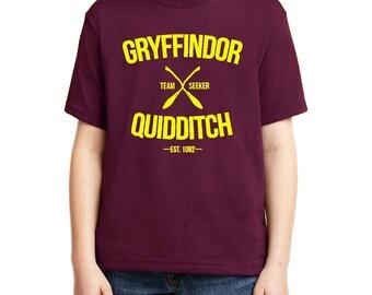 KIDS Gryffindor Quidditch Shirt