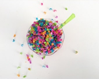 Vibrant Confetti, Neon Confetti, Bright Confetti, Colorful Confetti, Wedding Confetti, Party Confetti, Table Confetti, Baby Shower Confetti