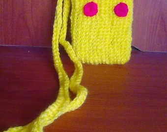Pikachu Inspired Cellphone Purse
