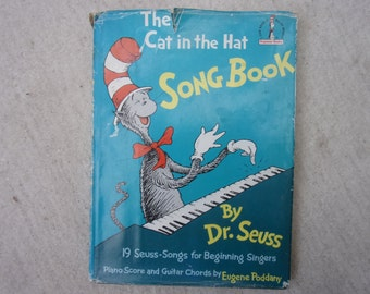 The cat in the hat Song Book Dr Seuss 1968