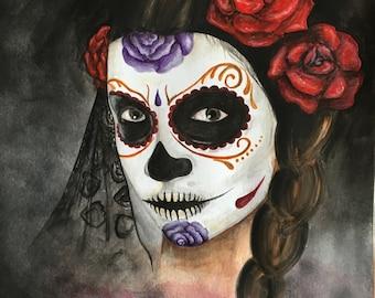 Dia de los Muertos, Print