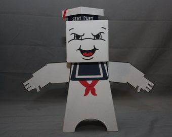 Cube Dude: Mr. Stay Puft - Papercraft