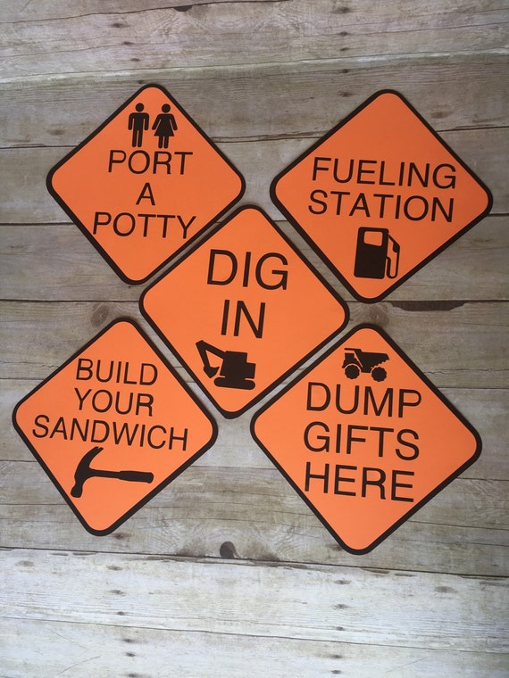signs working courage dump