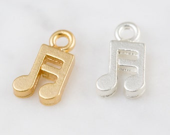 music note pendant,music note charm,DIY pendant, jewelry gift,Beading supplies,brass charm,DIY jewelry,handmade pendant,unique,metal jewelry