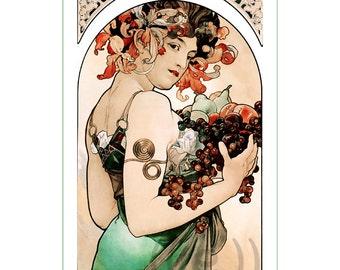 fabric panel - painting by Alphonse Mucha (56)