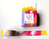 Rainbow Washi Tape, Pastel Tie Die Faded Planner  tape,
