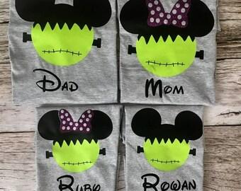 Disney Family Shirts - Matching Disney Shirts - Disney Halloween Shirts - Halloween Disney Shirts