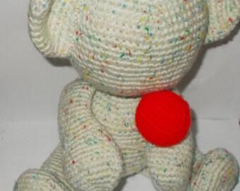 Crochet Teddy /  Faceless Teddy / Amiguruimi (REDUCED)