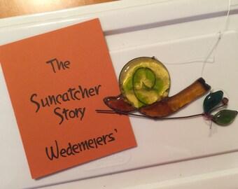 Snail Wedemeiers' Suncatchers antique suncatcher