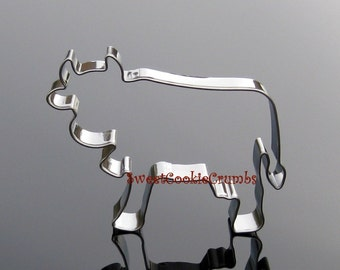 Old Bessie Cow Cookie Cutter- Stainless Steel - USA FREE Shipping