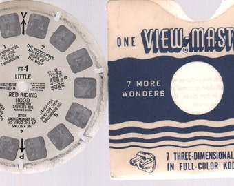 Vintage Viewmaster Sawyer's 1950 : #FT-1 Little Red Riding Hood