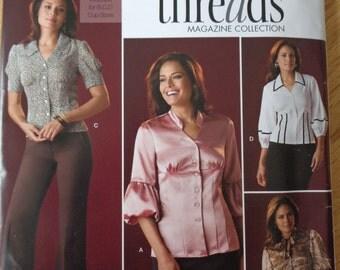 Simplicity Pattern 2732 Misses Blouse Size 6-14