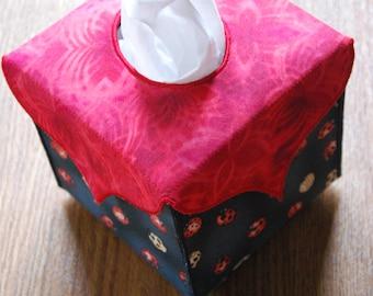 Ladybird Tissue Box Cover, Tissue Box Cover, Ladybug Tissue Box Cover