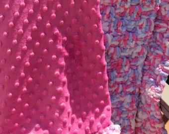 Girls stroller blanket