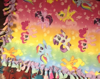 My Little Pony Friendship Is Magic Throw