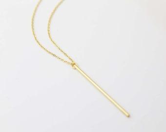 Stick Long Necklace