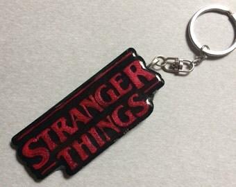 Stranger Things Key Chain
