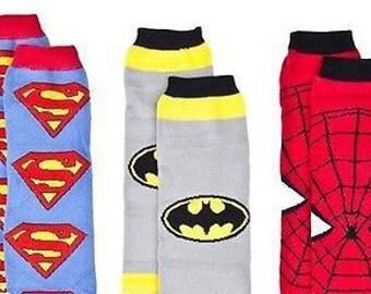 Super hero leg warmer