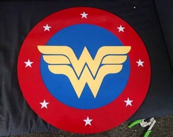 Wonder woman shield, 22 inches.