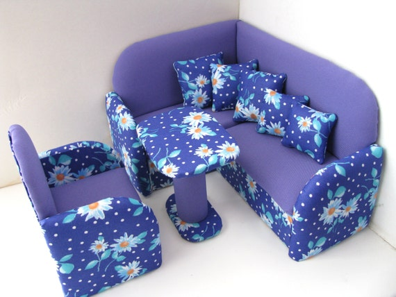 items similar to 12 inch doll furniture doll living room