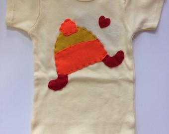 Jayne's Hat Firefly Baby Onesie