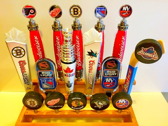 Hockey Tap Handles Ny Islanders Rangers Bruins Flyers Red