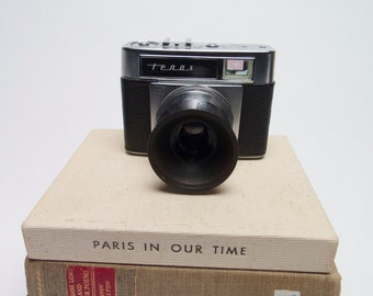 TENAX 35 mm  Caral Zeiss with tessar  2.8  50   range finder film camera 3207500 prontormat s