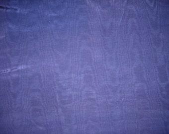 Navy Blue Twill Like Fabric, 1-3/4 Yard