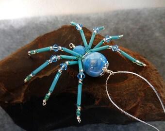 Christmas spider beaded spider, Christmas spider legend, Christmas Ornament, Halloween, Beaded Decor, Beaded Animal, Home Decor, Spider