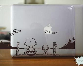 Child and Dog Macbook Case Macbook Hard Case Macbook Cover Macbook Pro Case Macbook Air Case Macbook Shell Macbook Skin