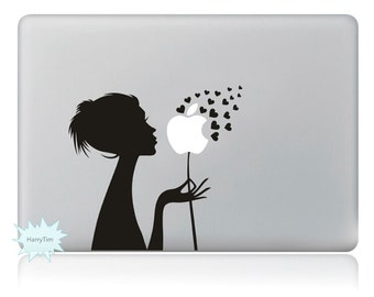 Blow the Apple Decals Mac Stickers Macbook Decals Macbook Stickers Apple Decal Mac Decal Stickers Laptop Decal