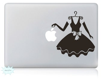 Dress Decals Mac Stickers Macbook Decals Macbook Stickers Apple Decal Mac Decal Stickers Laptop Decal