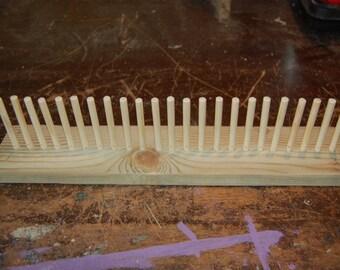 Handmade Recycled Wood Peg Loom