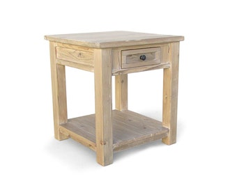 SALE, AVAILABLE NOW, Table, End Table, Reclaimed Wood, Side Table, Night Stand, Handmade, Rustic