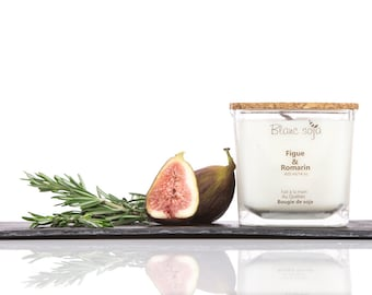 Fig and Rosemary Soy Candle