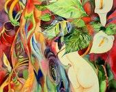 8x10in, А5, А4, giclee,Watercolor PRINT,  Art Print