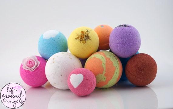 bath bomb set 12 ultra lush handmade fizzies by