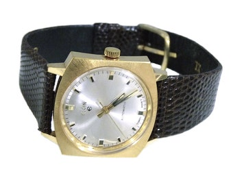 Vintage Elgin Automatic 996 17 Jewels Mens Watch Swiss
