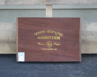 Rocky Patel Howitzer Cigar Box Jewelry Storage Box