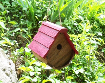 The Red Wren Birdhouse